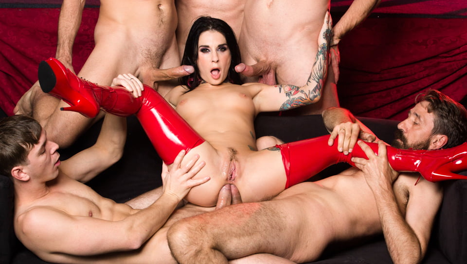 Joanna Angel Gangbang – As Above So Below Part 2